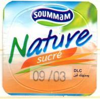"Opercule Cover Yaourt Yogurt "" Soummam "" Nature Sucré Yoghurt Yoghourt Yahourt Yogourt - Opercules De Lait"