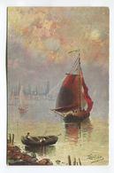 Untitled Water Scene - (F.1003/8) - Postcards