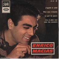 Disque 45 Tours ENRICO MACIAS - 1965 - Vinyl Records