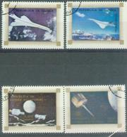 EG 1986 SPACE, GUINEEA EQUATORIAL , 4v, Used - Space