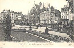 (10) Aube - Troyes - Place De La Préfecture Et Saint Urbain - Troyes