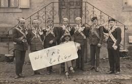 UEBERSTRASS -  Conscrits Classe 1912  ( Carte-photo ) Très Rare  ( 2/2 ) - France