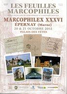Feuilles Marcophiles : 16 Numeros  Marcophilex - Tijdschriften: Abonnementen