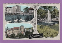 GRUSS AUS STOLBERG. BELGISCHER MILITÄRSTEMPEL. - Stolberg
