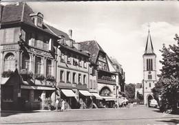 68-----MUNSTER---place Du Marché Et église Saint-léger--( Camion Citerne )-voir 2 Scans - Munster