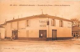 33-BEGADAN- UN COIN DE LA PLACE - L'HÔTEL DU COMMERCE - TABAC - France