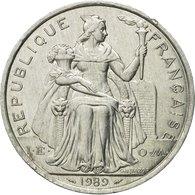 Monnaie, Nouvelle-Calédonie, 5 Francs, 1989, Paris, TTB+, Aluminium, KM:16 - New Caledonia