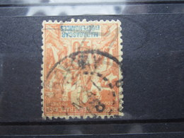 """VEND BEAU TIMBRE DE MADAGASCAR N° 37 , CACHET """" MAROVOAY """" !!! - Used Stamps"""
