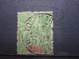 "VEND BEAU TIMBRE DE MADAGASCAR N° 42A , CACHET "" VOHEMAR "" !!! - Used Stamps"