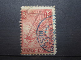 """VEND BEAU TIMBRE DE MADAGASCAR N° 68 , PIQUAGE DECALE A GAUCHE , CACHET """" NOSSI-BE """" !!! - Used Stamps"""