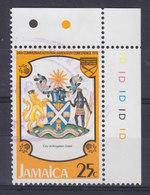 Jamaica 1978 Mi. 444     25 C. Stadtwappen Von Kingston W. Corner Margin !! - Jamaica (1962-...)