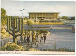 Jerusalem , The Knesset (Israel's Parliament), And The Knesset Menorah, Unused Postcard [21663] - Israel