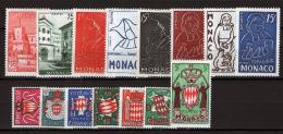 Monaco 1954 Annata Completa / Complete Year Set **/MNH VF - Annate Complete