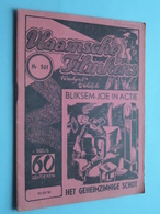 VLAAMSCHE FILMKENS ( Nr. 561 ) 21-12-'41 : BLIKSEM-JOE In ACTIE - Het Geheimzinnige Schot ! - Kids