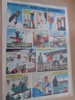 CLI718 RECIT COMPLET Tiré De Revue TINTIN DES ANNEES 60/70 : ADOLPHE PEGOUD LE PREMIER QUI OSA ... 2/3 F - Livres, BD, Revues
