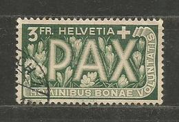 SCHWEIZ - 3 Fr. PAX  - INTERESTING STAMP  - D 2585 - Suisse