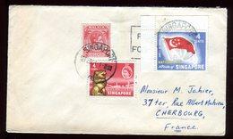 Singapour - Enveloppe Pour La France En 1961 - Singapour (1959-...)