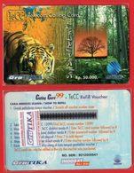 L15 - Indonesia Telkom TeCC Telkom Calling Card Say Save The Earth Mint - Indonesia