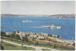 The Sea Of Marmara And The Bosphorus Seen From The Palace Of Topkapi, Turkey, Unused Postcard [21669] - Turkey
