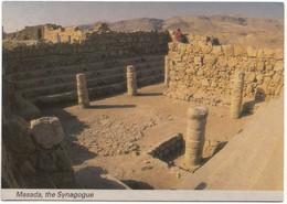 Masada, The Synagogue, Israel, Unused Postcard [21671] - Israel