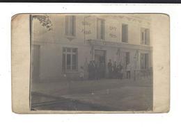 HARTENNES ET TAUX  Carte Photo  Hôtel De La Croix D'Or Potteaux - France