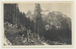 AK  Hohes Brett Vom Scharitzkehl Weg Bei Berchtesgaden 1936 - Berchtesgaden
