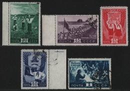 Russia / Sowjetunion 1948 - Mi-Nr. 1275-1279 Gest / Used - Pioniere (II) - Oblitérés