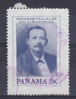 Panama 1976 Mi. 1307     5 C. Nicanor Villalaz, Entwerfer Des Nationalwappens - Panama