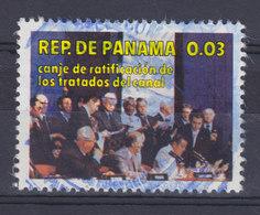 Panama 1978 Mi. 1315     0.03 (B) Austausch Des Ratifizierungs-Urkunden Des Panama-KanalVertrages - Panama