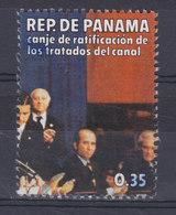 Panama 1978 Mi. 1317     0.35 (B) Austausch Des Ratifizierungs-Urkunden Des Panama-KanalVertrages - Panama