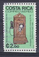 Costa Rica 1976 Mi. 948     2.00 Col Telefon Telephone - Costa Rica