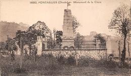 Pontarlier La Cluse Et Mijoux CLB 16882 Monument 1870 - Pontarlier