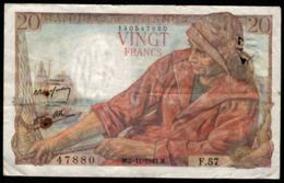 20 FRANCS PÊCHEUR 5.11.1942 F:13/4 - 1871-1952 Anciens Francs Circulés Au XXème