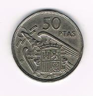 &  SPANJE 50 PESETAS 1957 (58)  FRANCO - [ 5] 1949-… : Royaume