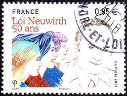Oblitération Cachet à Date Sur Timbre De France N° 5121 - 50 Ans De La Loi Neuwirth - France