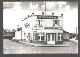 Heusden - Stekkershof - Fotokaart - Nieuwstaat - Pompstation Fina / Bosteels Pils - Vintage Car Opel - Destelbergen