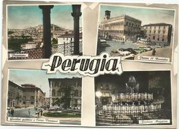X3731 Perugia - Panorama Vedute Multipla / Viaggiata 1958 - Perugia