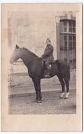 Militaria Cavalier Soldat à Identifier - Guerre 1914-18