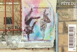 FRANCE 2014 BLOC  FETE DU TIMBRE DANSE DE RUE OBLITERE  F4905 F 4905 -                              TDA73A - Sheetlets