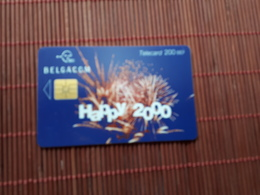 Phonecard Belgium New Year Used - Belgium