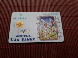 Phonecard Belgium Memorial Van Damme Used - Belgium