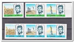Qatar 1966, Postfris MNH, John F. Kennedy ( Imperf. ) - Qatar