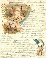 Carte-Lettre ILLUSTREE De L'Expo De 1900  Sujet Guatemala  - Très Belle Qualité - 1900 – Paris (France)