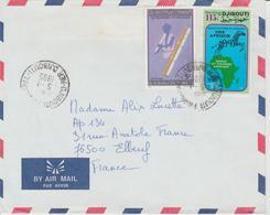 Djibouti Lettre De 1995 Pour La France - Djibouti (1977-...)