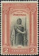 Portugal 1926 Independência De Portugal 1º Emissão  First Independence Issue Alfonso The Conqueror King MLH - Storia