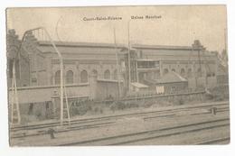 Court-Saint-Etienne Usines Henricot Carte Postale Ancienne 1920 - Court-Saint-Etienne