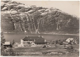Hardanger Folkehøgskule, Lofthus, Ullensvang, Norway, 1951 Used Real Photo Postcard [21675] - Norway
