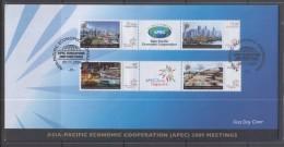 Singapore 2009 APEC Meeting FDC - Singapore (1959-...)