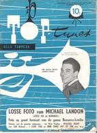 TOP TUNES  NR 9 VAN 15/02/1961 - MR SUCU SUCU (ALBERTO CORTEZ) - NEDERLANDS  (302 ) - Tijdschriften
