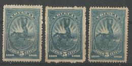Centenaire 5c Blue - Uruguay
